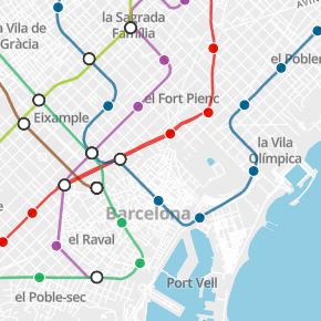 Precio del metro cuadrado en Barcelona