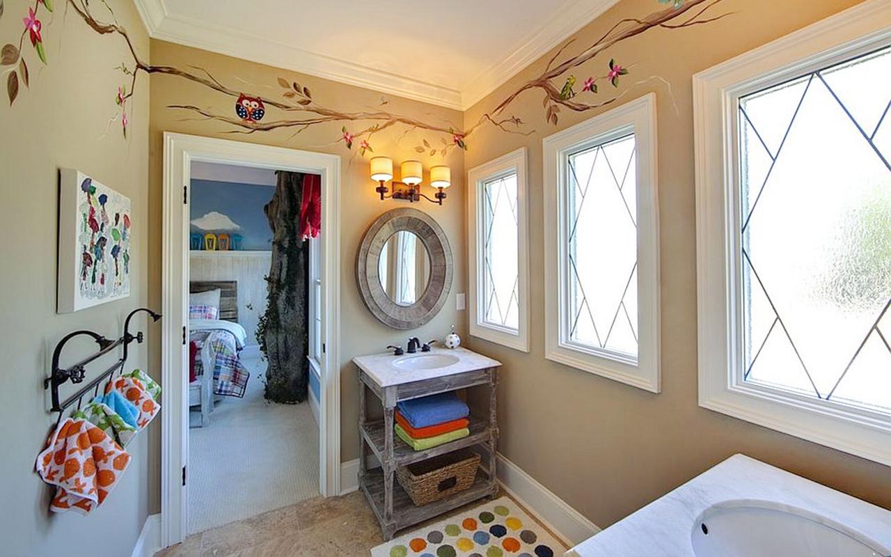 Ideas de decoración de baños para niños (fotos ...