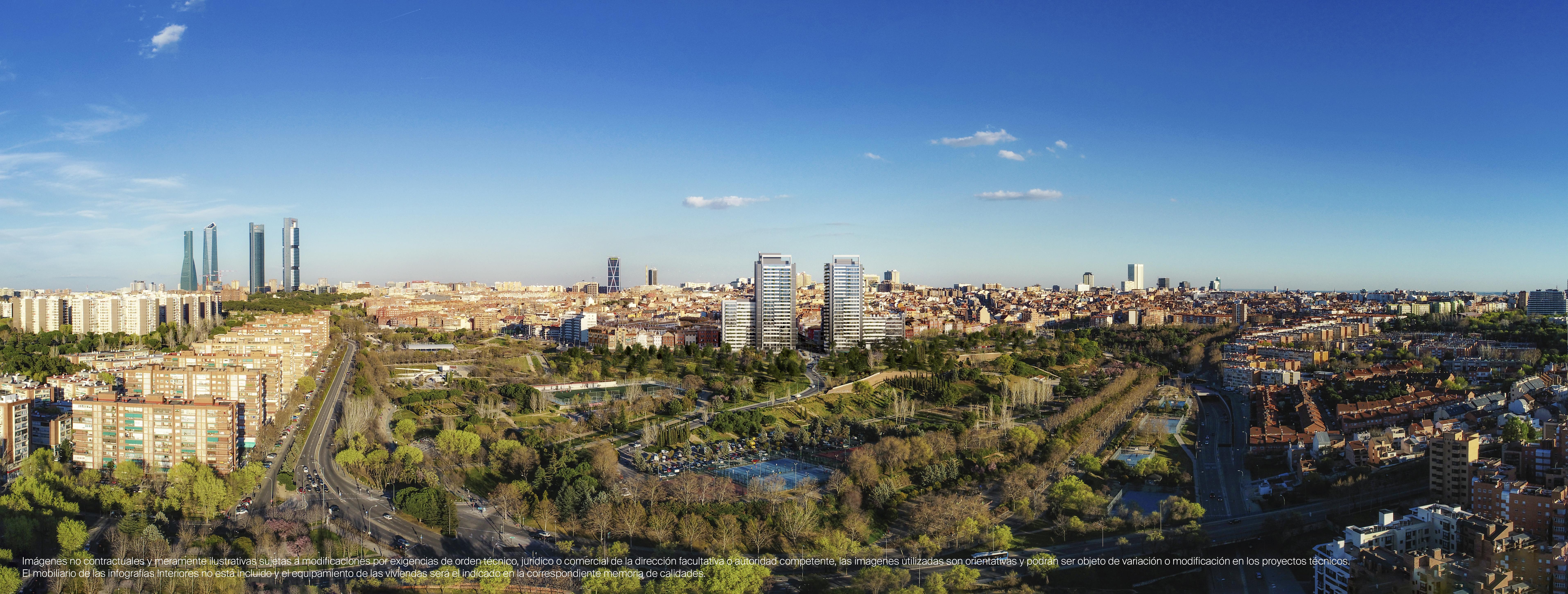 Vistas a Madrid