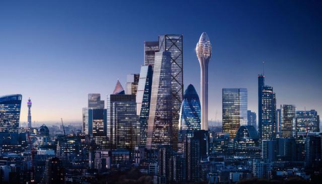 Vista de como quedará el 'skyline' una vez esté finalizado / DBOX for Foster + Partners