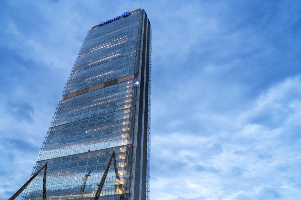 Torre Allianz, Milán / Getty