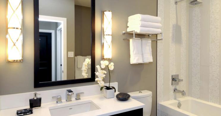 Ideas de decoración: baños pequeños y modernos — idealista/news
