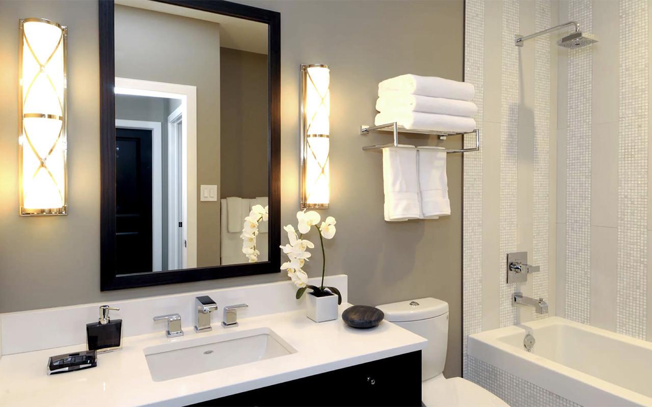 db44095b1931 Ideas de decoración: baños pequeños y modernos — idealista/news