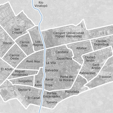 Map Of Elche Ciudad Elche Elx Homes For Sale Idealista
