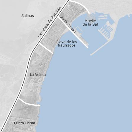 Map Of El Acequion Los Naufragos Torrevieja Homes For Sale