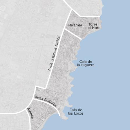 Kaart Van Playa De Los Locos Torrevieja Idealista