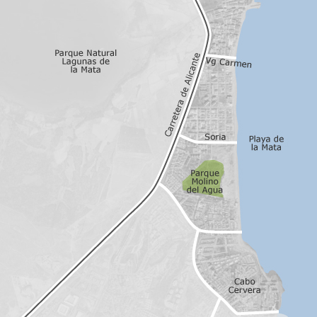 Map Of La Mata Torrevieja Homes For Sale Idealista