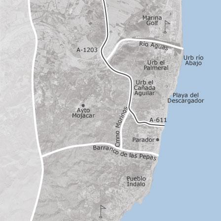 Mojacar Spain Map.Map Of Mojacar Almeria Homes For Sale Idealista