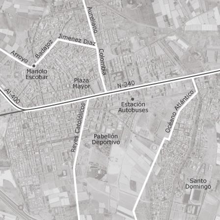 Mapa de el ejido locales o naves en alquiler idealista - Pisos baratos de bancos en el ejido ...