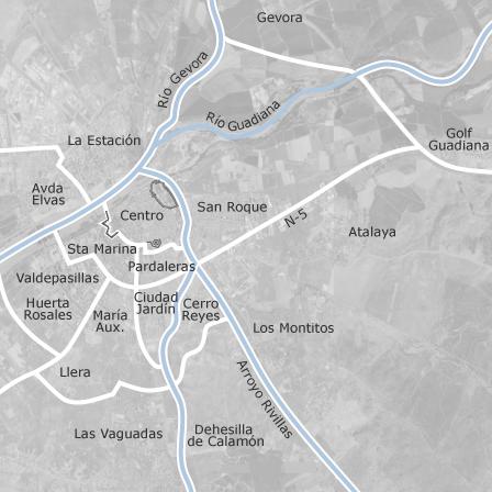 Mapa De Badajoz Capital.Mapa De Badajoz Idealista
