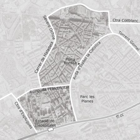 Mapa De Can Serra Pubilla Cases Hospitalet De Llobregat Idealista