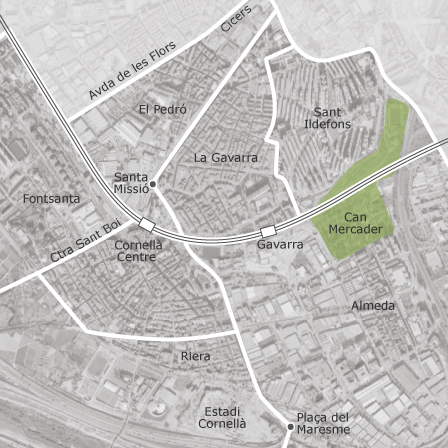 Cornella De Llobregat Mapa.Mapa De Cornella De Llobregat Barcelona Idealista