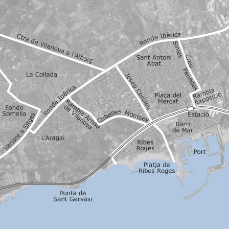 Mapa de vilanova i la geltr barcelona idealista - Japones vilanova i la geltru ...