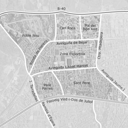 Mapa de nord oest terrassa idealista - Alquiler pisos en terrassa particulares ...