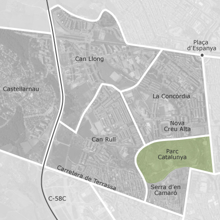 Mapa de la conc rdia can rull sabadell viviendas en alquiler idealista - Casas en alquiler sabadell particular ...