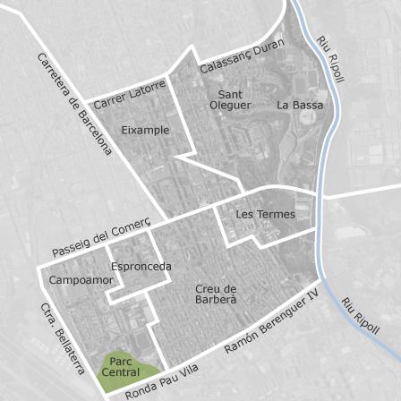 Mapa de la creu de barber avinguda eixample sabadell viviendas en alquiler idealista - Casas en alquiler sabadell particular ...