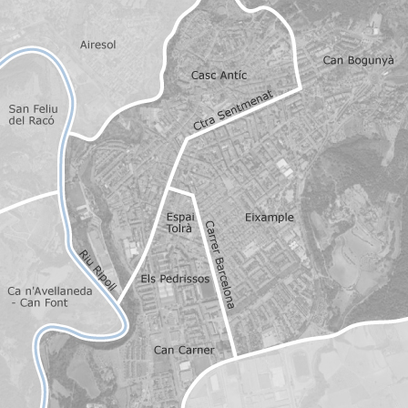 Castellar Del Valles Mapa.Mapa De Centre Castellar Del Valles Idealista