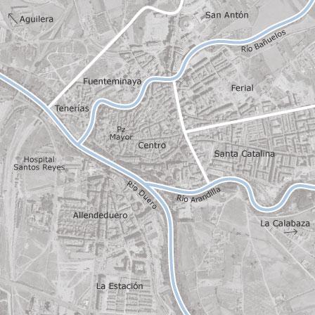 Aranda Del Duero Mapa.Mapa De Aranda De Duero Burgos Idealista