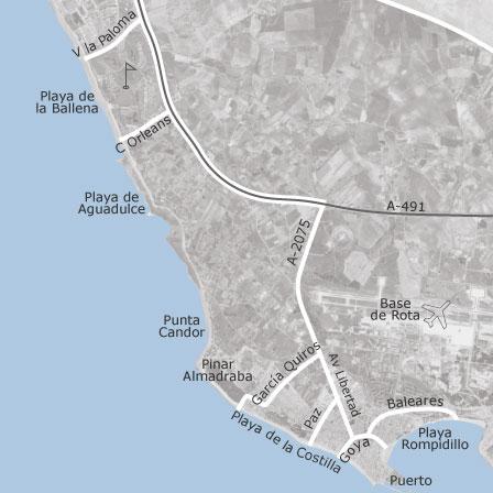 Mapa de Rota Cdiz  idealista