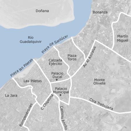 Sanlucar De Barrameda Mapa.Mapa De Sanlucar De Barrameda Cadiz Idealista