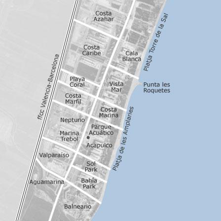 Map Of Marina D Or Oropesa Del Mar Homes For Rent Idealista