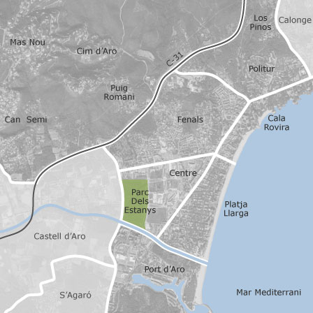 Mapa de platja d 39 aro castell platja d 39 aro viviendas en - Pisos alquiler platja d aro ...