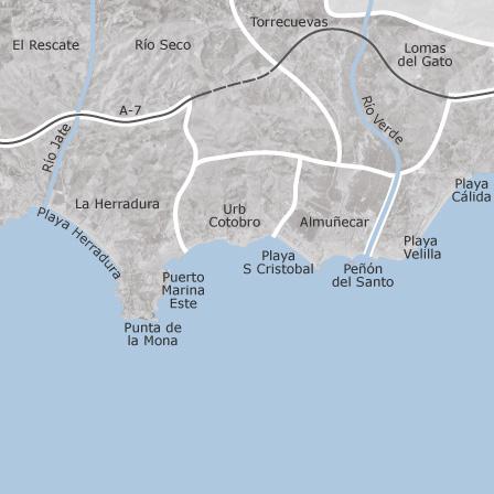 Granada Karte.Karte Von Almuñécar Granada Idealista
