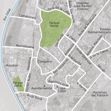 Mapa De Huelva Capital.Mapa De Huelva Idealista