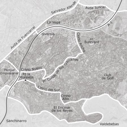 Mapa de La Moraleja, Madrid — idealista