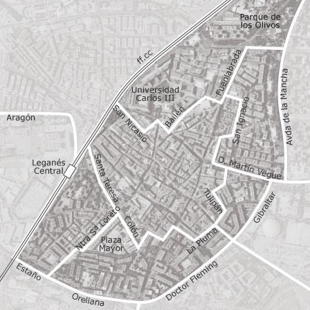 Mapa de centro legan s idealista - Pisos de bancos en leganes ...
