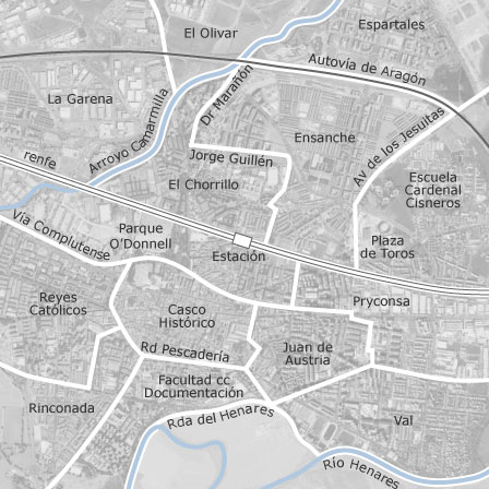 Barrio Venecia Alcala De Henares Mapa.Mapa De Alcala De Henares Madrid Idealista