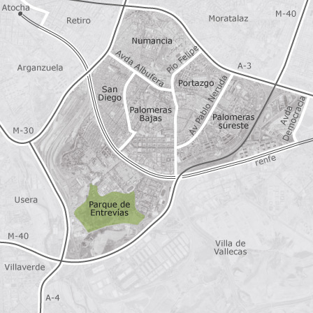 Mapa de puente de vallecas madrid idealista - Alquiler de pisos baratos en puente de vallecas madrid ...