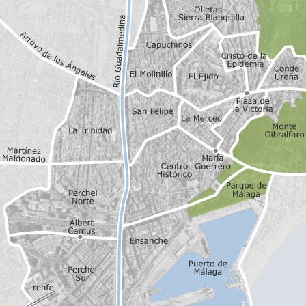 Mapa De Centro Malaga Idealista