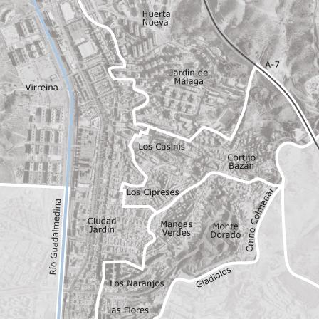 Mapa de ciudad jard n m laga garajes en alquiler idealista for Pisos alquiler ciudad jardin malaga