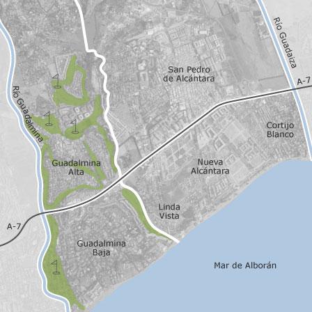 Carte Andalousie San Pedro De Alcantara.Carte De San Pedro De Alcantara Marbella Idealista