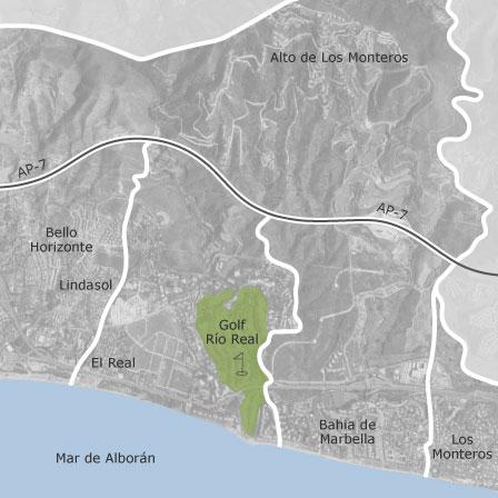 Kartta Rio Real Los Monteros Marbella Idealista