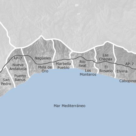 Cartina Spagna Marbella.Mappa Di Marbella Malaga Comuni Con Annunci Di Case In Vendita Idealista