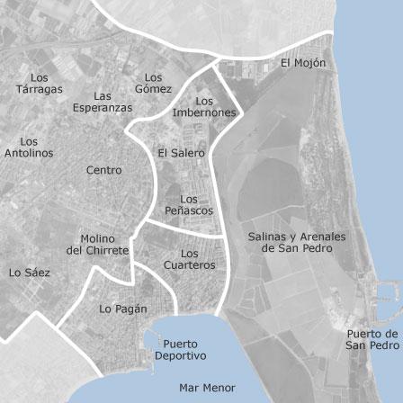 Mapa de san pedro del pinatar murcia idealista - Casas de alquiler en san pedro del pinatar particulares ...