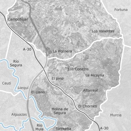 Mapa Molina De Segura.Mapa De Molina De Segura Murcia Idealista