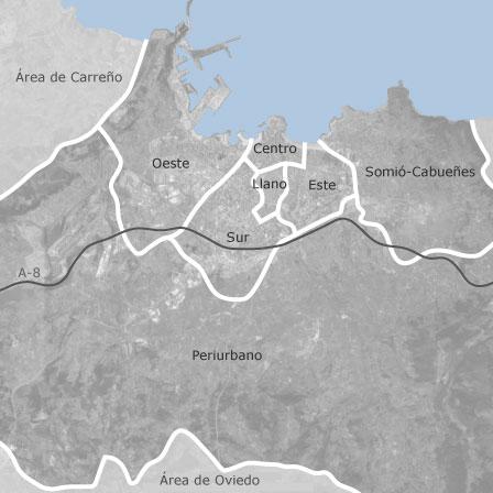 Mapa de gij n asturias idealista for Pisos compartidos gijon