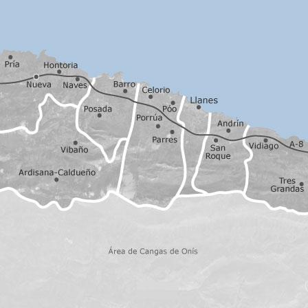 Mapa De Llanes Asturias Idealista
