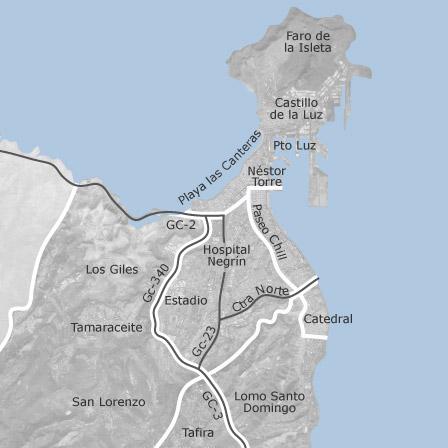 Mapa de las palmas de gran canaria las palmas idealista - Pisos com las palmas de gran canaria ...