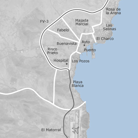 Mapa de puerto del rosario las palmas viviendas en - Vivienda puerto del rosario ...