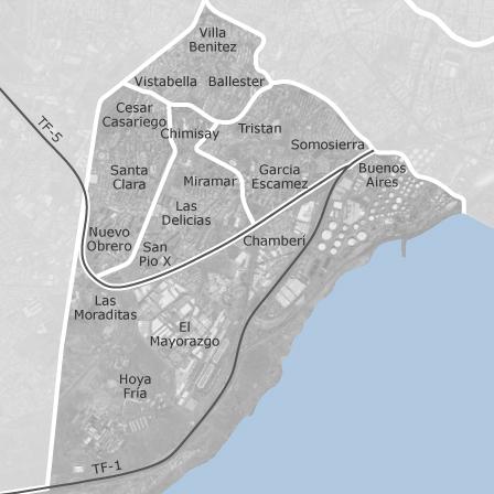 Mapa de ofra costa sur santa cruz de tenerife oficinas en alquiler idealista - Alquiler oficina santa cruz de tenerife ...