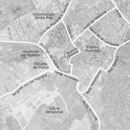 Mapa de mairena del aljarafe sevilla idealista - Vpo mairena del aljarafe ...