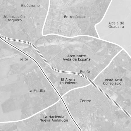 Zona Azul Sevilla Mapa.Mapa De Dos Hermanas Sevilla Idealista