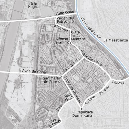 Mapa de triana sevilla idealista for Alquiler de casas en los remedios sevilla