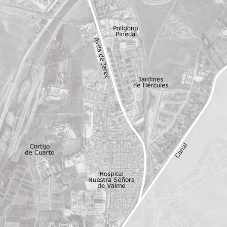 Mapa de bellavista jardines de h rcules sevilla idealista - Jardines de hercules sevilla ...