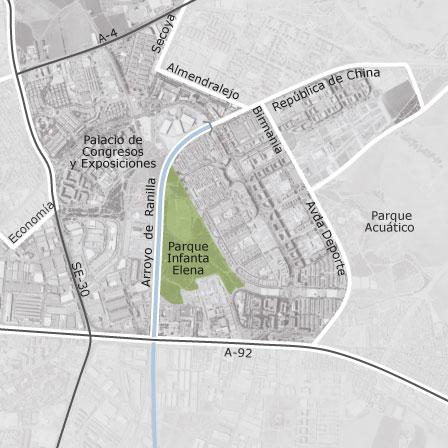Mapa de sevilla este sevilla oficinas en alquiler - Alquiler vpo sevilla ...
