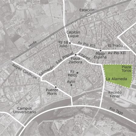 Mapa Talavera Dela Reina.Mapa De Talavera De La Reina Toledo Idealista